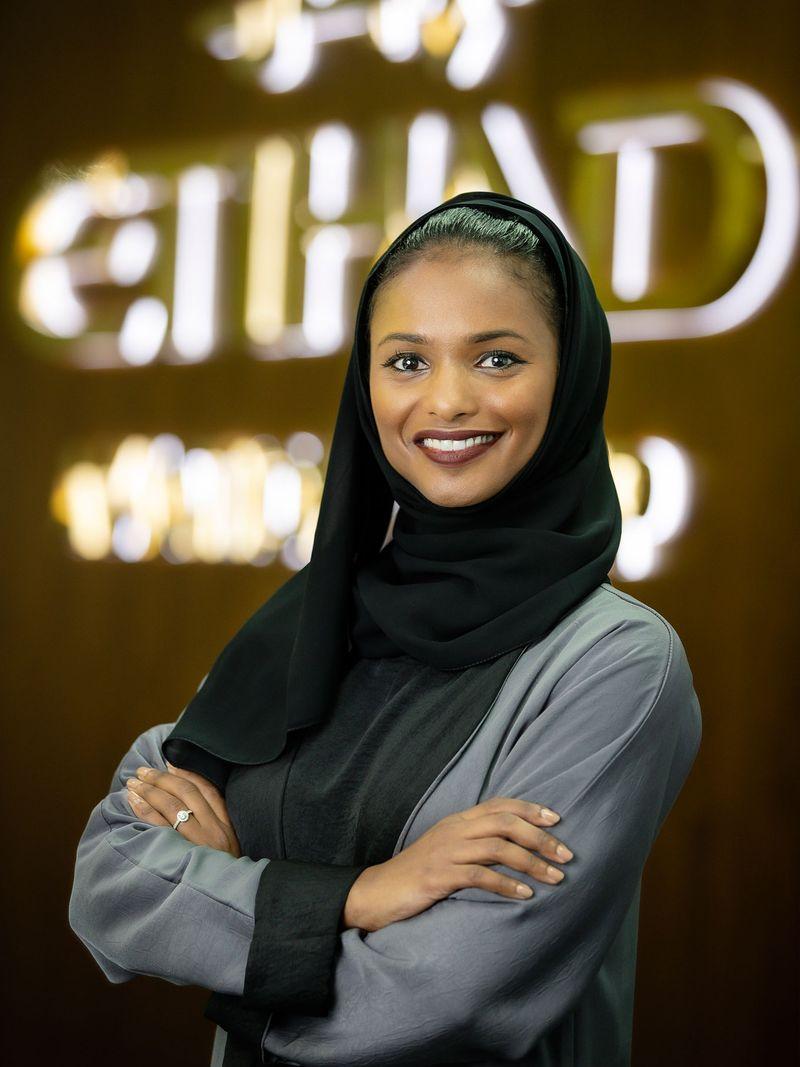 Stock - Fatma Al Mehairi, Etihad Airwaya' Vice-President for Sales