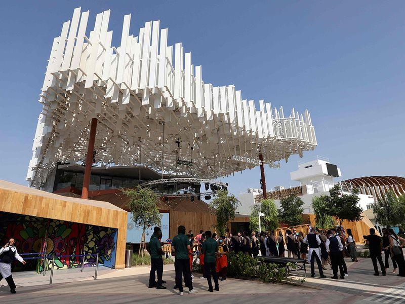 Australian pavilIon at the Expo 2020 Dubai.