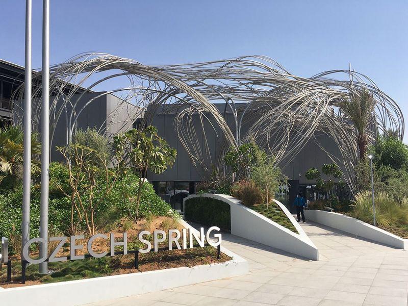 Czech Pavillon at the Expo 2020 Dubai.