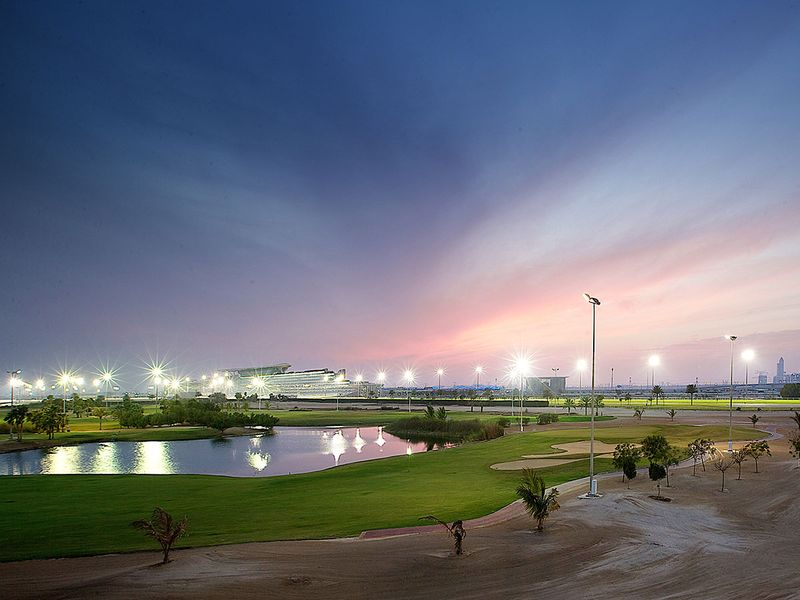 The Track golf course at Meydan