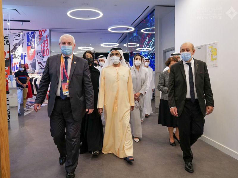 Dubai ruler at Expo