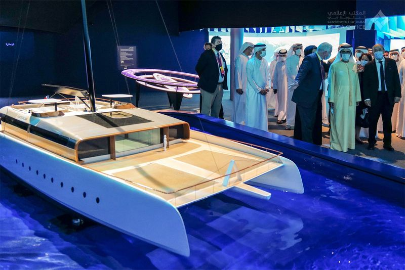 Mohammed bin Rashid tours Expo 2020 venue on second day of event