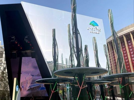 Belarus Pavilion is a forest of future technology at Expo 2020 Dubai