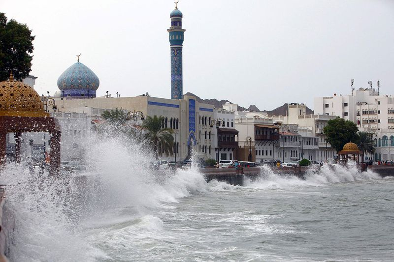Cyclone Shaheen was 60 kilometers (37 miles) off Oman's capital of Muscat on Sunday morning, approaching with wind speeds of up to 116 kilometers per hour, according to the nation's civil aviation authority. It is expected to strengthen into a category 1 tropical cyclone, the authority said.
