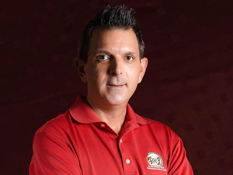 Gavin Chappell, Golf Manager at Al Ain Equestrian, Shooting & Golf Club.