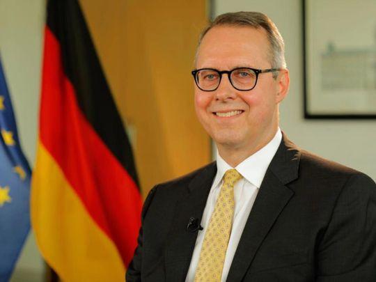 German Abassador Peter Fischer