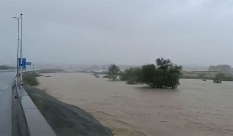 The Royal Oman Police have warned the general public to exercise caution and has advised not to venture to beaches and sea shores as the sea turns rough and choppy.