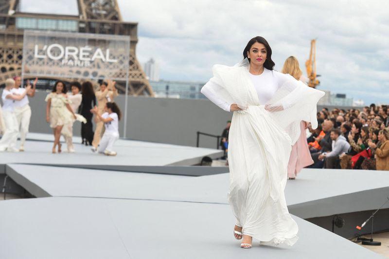 Aishwarya Rai Bachchan at Paris Fashion Week