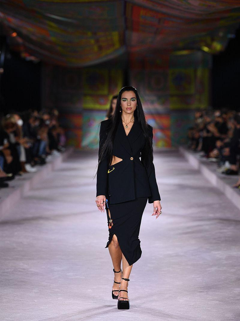 Gulf News The Kurator Dua Lipa Versace Summer 2022