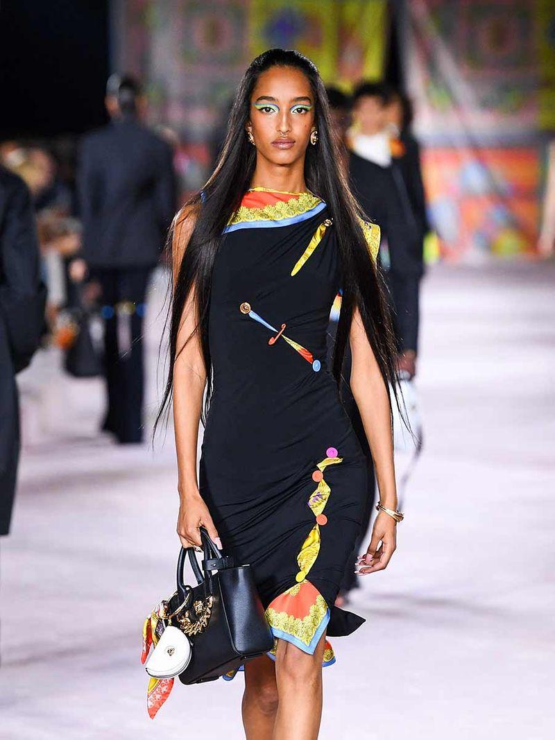 Gulf News The Kurator Versace Summer 2022 dress