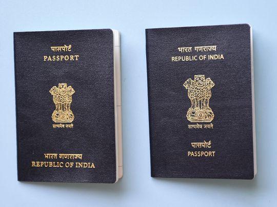 Indian passport new
