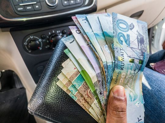 STOCK Kuwait dinar