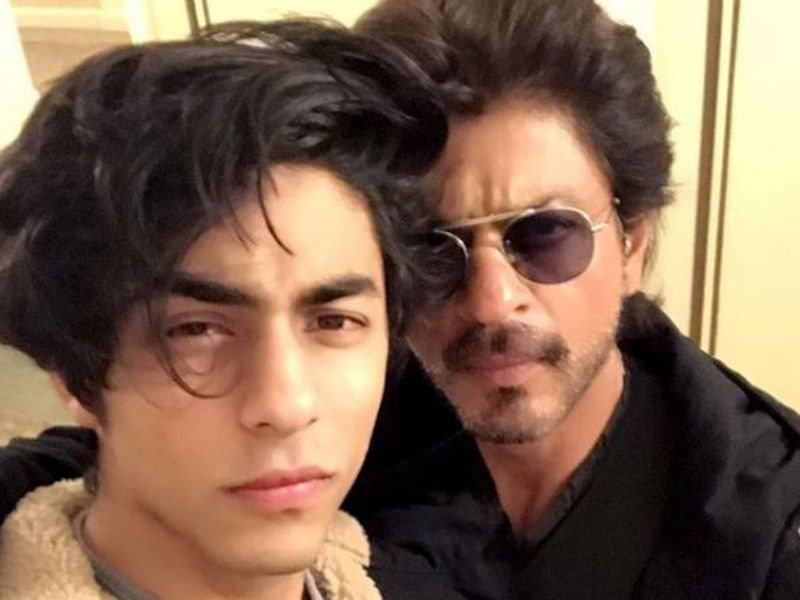 Shah Rukh Khan with his son Aryan