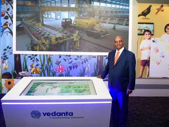 Stock - Anil Agrawal of Vedanta Resources