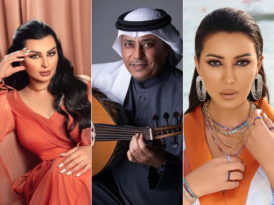 Aseel Hameem, Mohamed Al Bakri and Asma Al Munawar will perform at Jalsat @ Expo