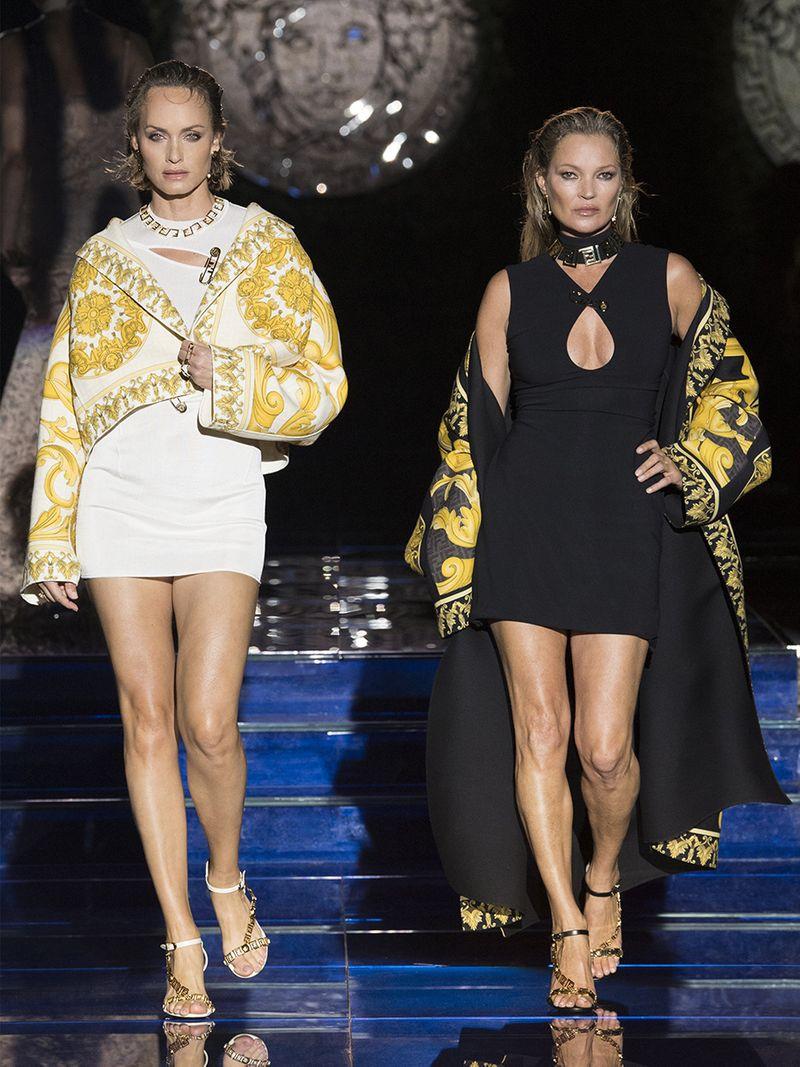 Gulf News The Kurator Fendi Versace Kate Moss Amber Valetta