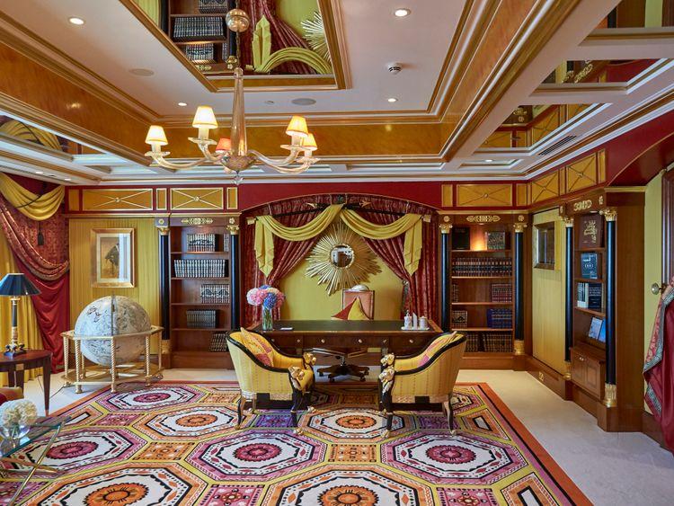 Inside the Royal Suite at Burj Al Arab 2