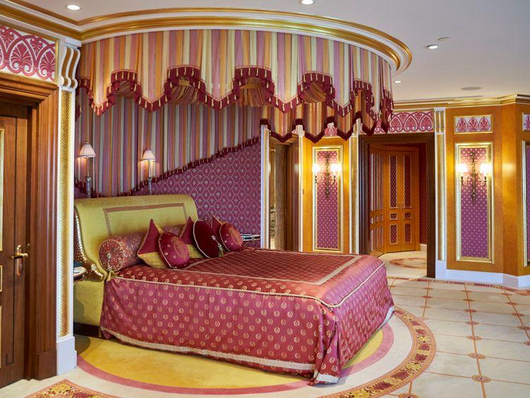 Inside the Royal Suite at Burj Al Arab 3