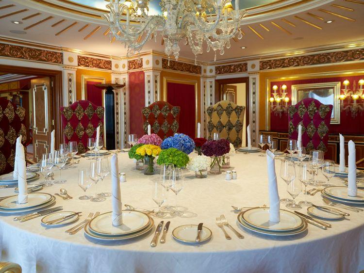 Inside the Royal Suite at Burj Al Arab 5