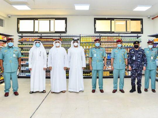 Sharjah Cooperative Society at Sharjah jail