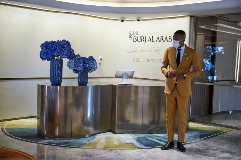 The tickets can be bought at the ticketing counter adjacent the Jumeirah Beach Hotel