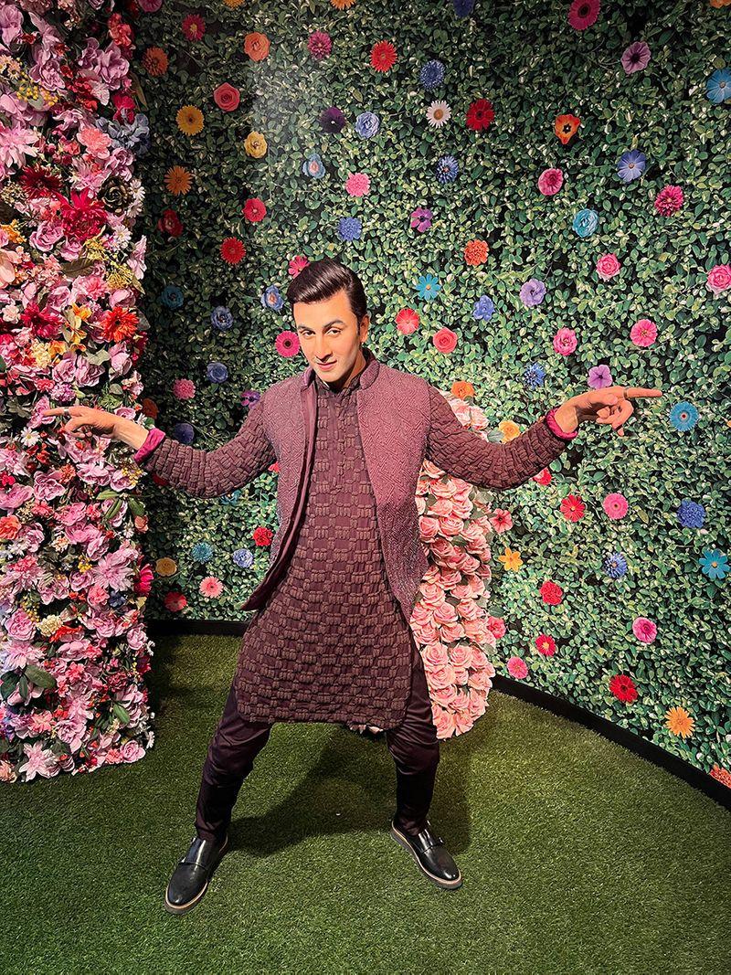 Bollywood star Ranbir Kapoor's statue