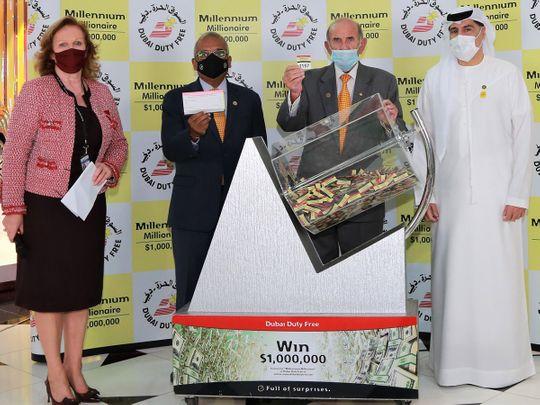 DDF Millennium Millionaire Draw for Series 370, worth $1 million, was won by British national Keith I.