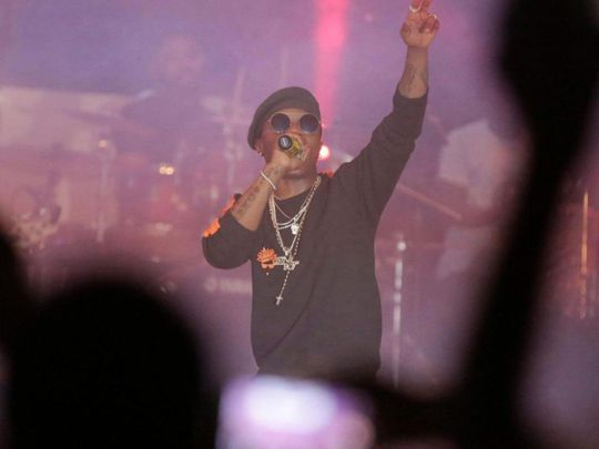 TAB Nigerian singer Wizkid AP-1633513076414