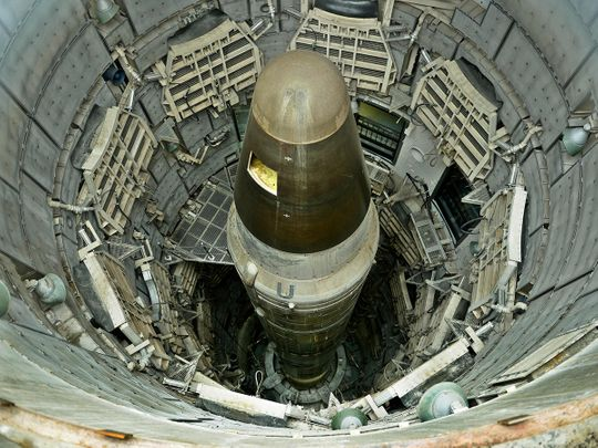 Titan II nuclear ICMB