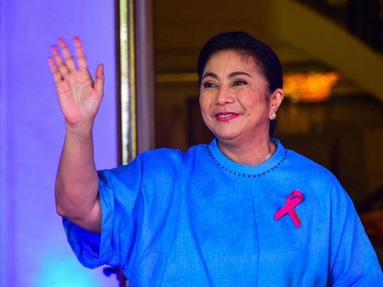 20211007 Philippine Vice President Leni Robredo
