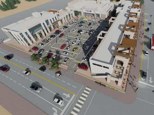 Stock - Al Andalusia Courtyard Mall project