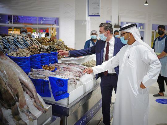 Stock - The Waterfront Market Dubai