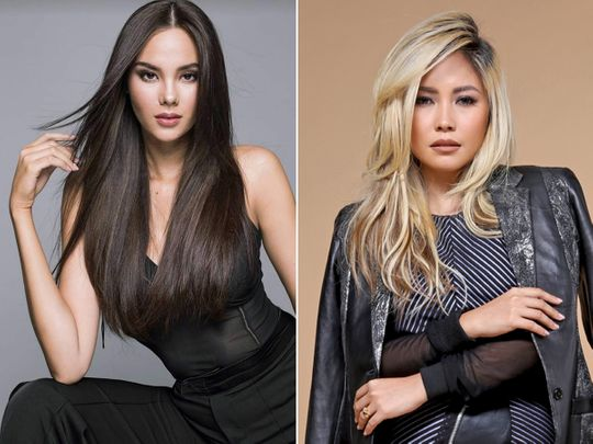 Catriona Gray and Yeng Constantino