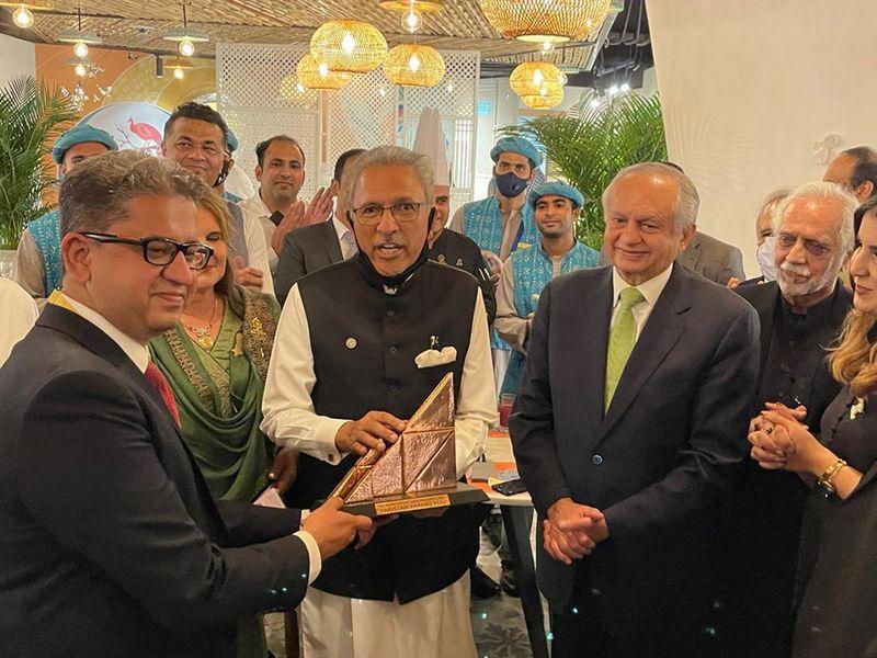 Pakistan President Alvi opens Pakistan Pavilion at Expo 202o0 Dubai