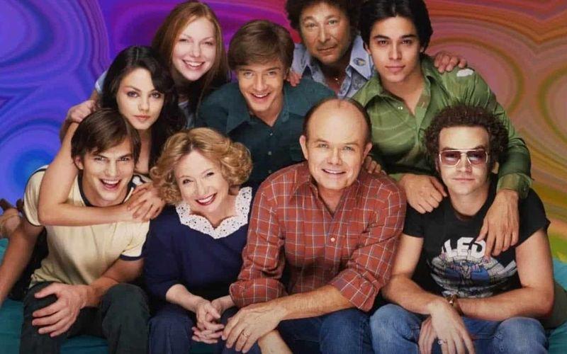 The original cast of That 70s Show