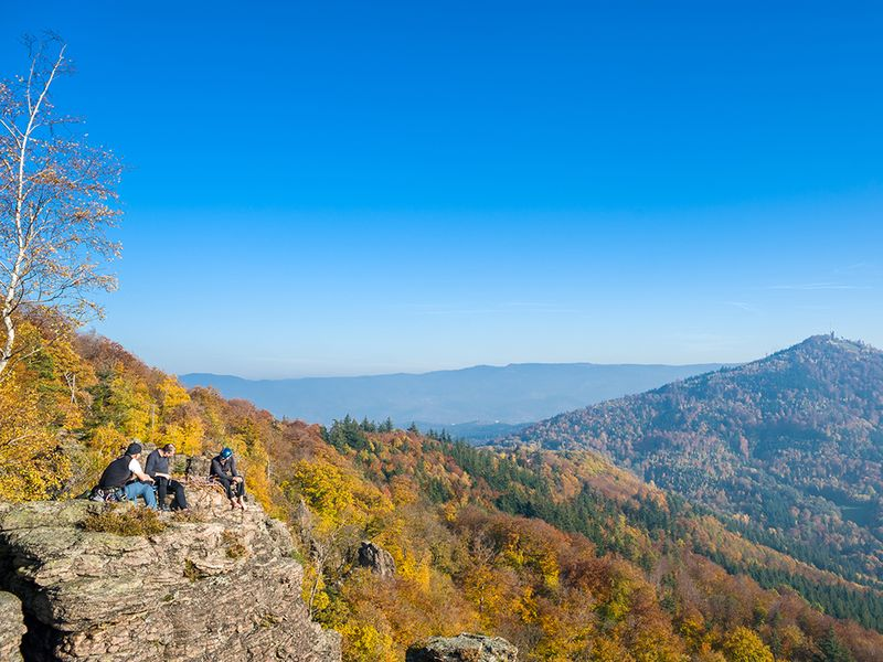 Battert Rock in the Black Forest