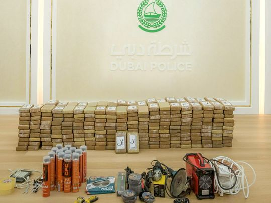 Dubai Police sized 500kg of cocaine worth Dh500 million in Operation 'The Scorpion'