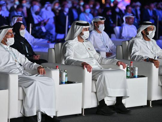 Maktoum bin Mohammed during his attendance at the Dubai International Public-Private Partnership Conference