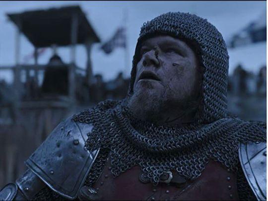 Matt Damon in 'The Last Duel'