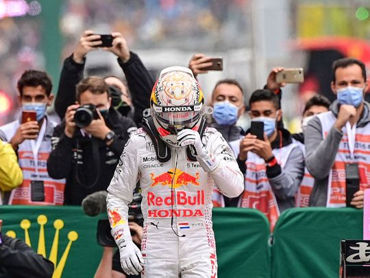 Max Verstappen was delighted with second spot in Turkey