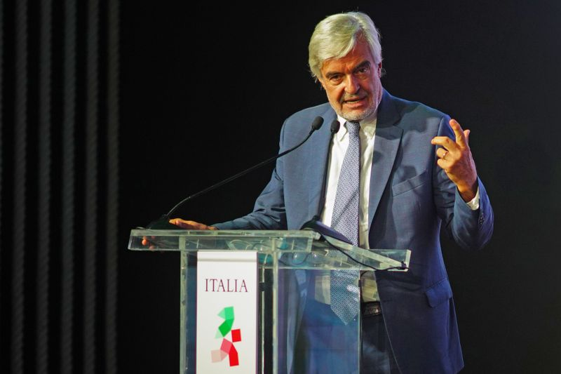 Paolo Glisenti, Commissioner General of Italy