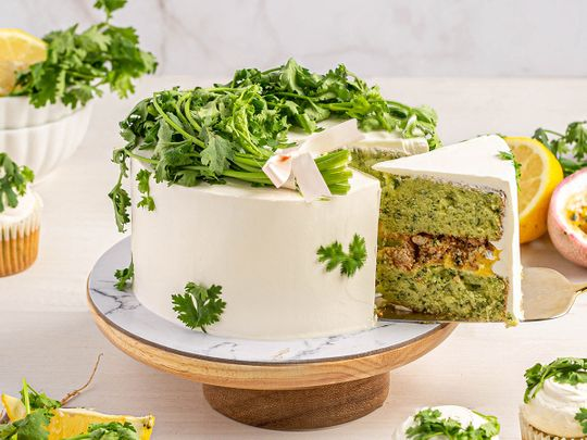 Coriander cake and why everyone is talking about it