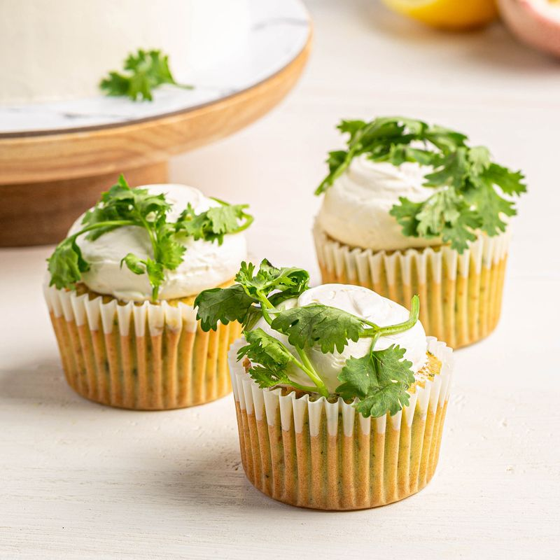 Coriander cupcakes