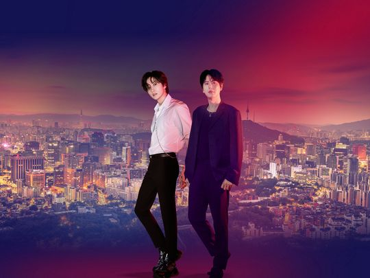 Eunhyuk and Kyuhyun from Super Junior