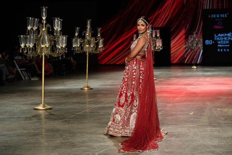 Malaika Arora at Lakme Fashion Week