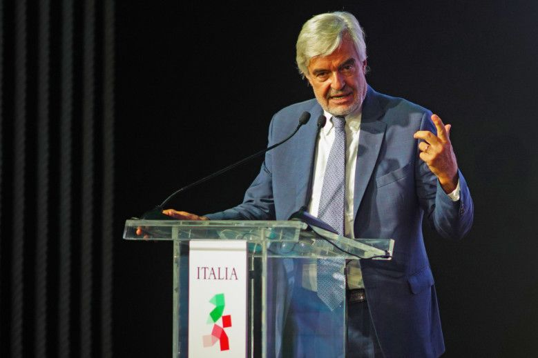 RDS_211010 Expo 2020 Florence Paolo Glisenti, General Commissioner of Italy-1633942476357