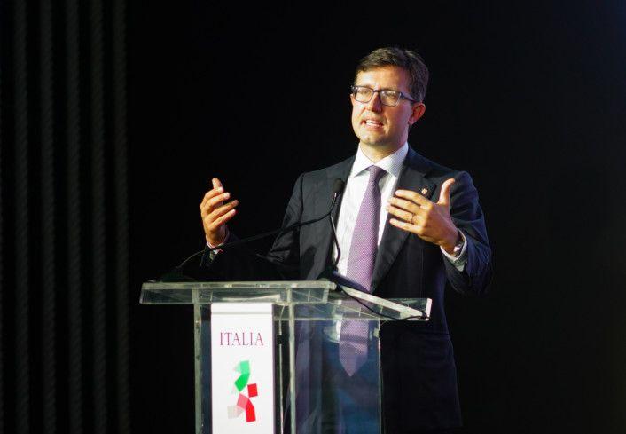 RDS_211010 Expo 2020 Florence Dario Nardella, Mayor of Florence-1633942478497