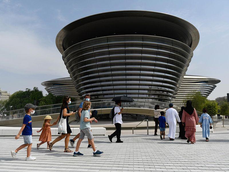 visitors expo 2020 dubai