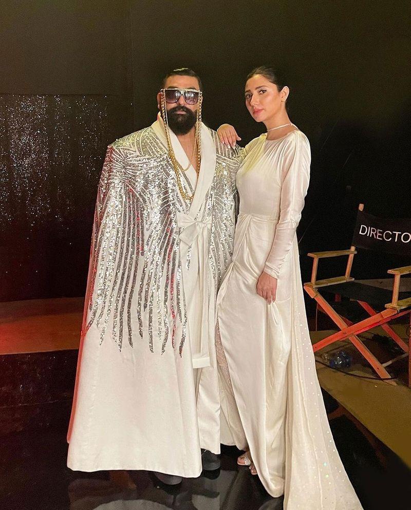 Ali Xeeshan and Mahira Khan