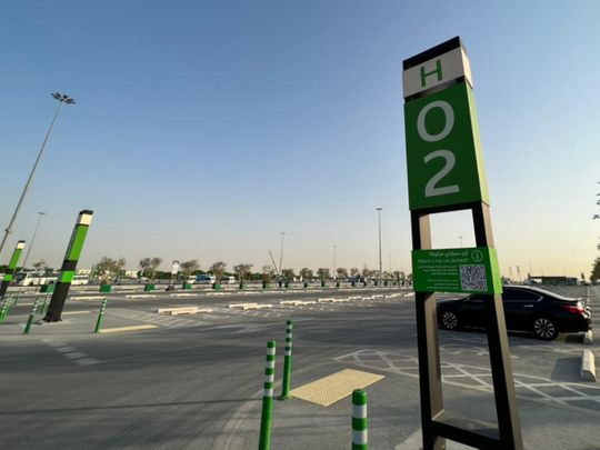 Expo parking